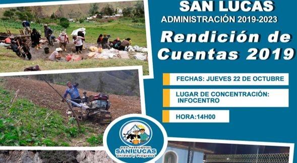 INVITACION A LA DELIBERACION PUBLICA RENDICION DE CUENTAS 2019